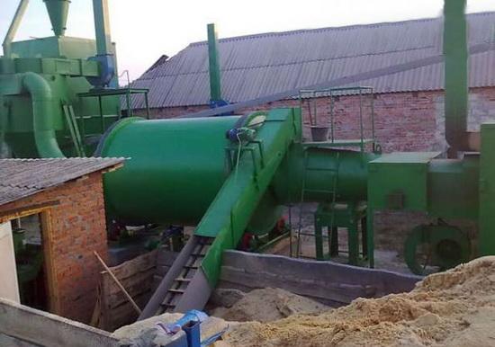 Производство топливных брикетов оборудование