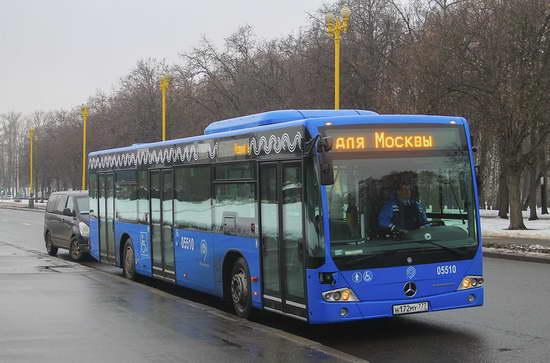 Аренда автобуса с водителем в Москве