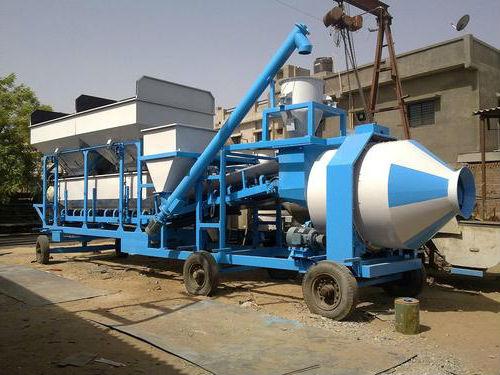 Мобильные мини-заводы по производству бетона