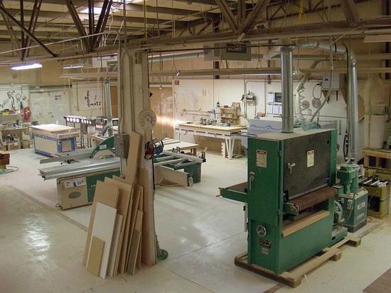 Оборудование для производства деревянной мебели