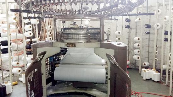 Производство тканей для пошива одежды