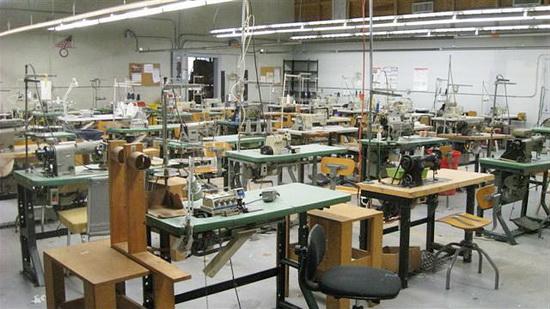 Швейный цех для производства мебели