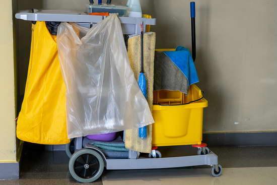 Уборка в офисных помещениях