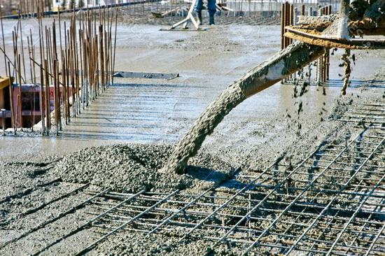 материалы для производства бетона