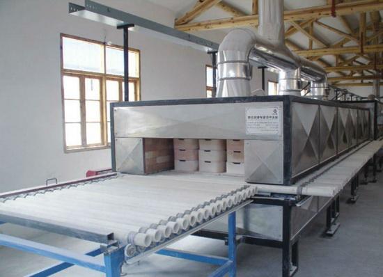 обжиг керамической плитки производство